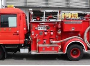 公用車の売却 ポンプ車(消防)・小型ダンプ