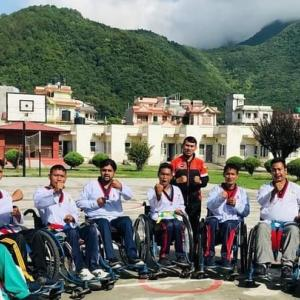 ネパールパラリンピックテコンドーチームとの交流会