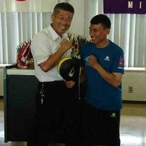 ネパールパラリンピックテコンドーチームが来日、コーチと