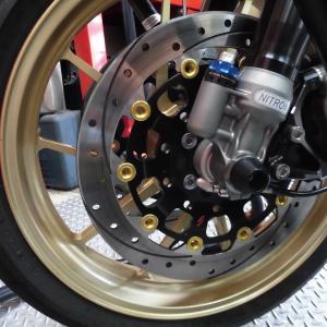 ZRX1200R サンスター ワークスエキスパンド メカナイト チタンボルト ショートタンデムバ