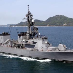 護衛艦たかなみ中東派遣