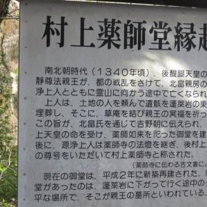 福島市 蓬莱岩と村上薬師堂