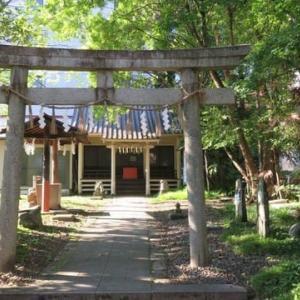 仙台市 馬上蠣崎神社