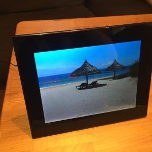 高視野角4:3画面9.7型液晶の激安デジタルフォトフレーム KEIAN KD97J-B