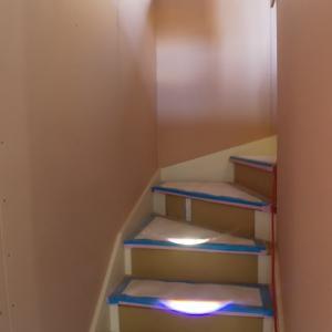 大工工事⑬  階段が出来ていました