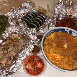 韓国料理の出前をしてみたの