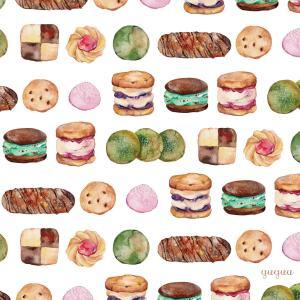 クッキー*水彩イラスト