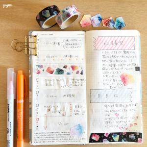 ゆゆう*ほぼ日手帳(6/17~30)