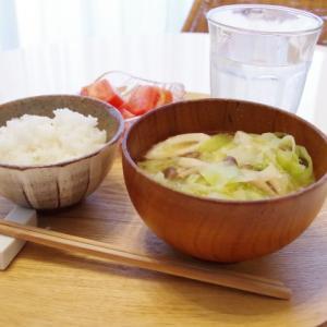 味噌汁(寝坊)