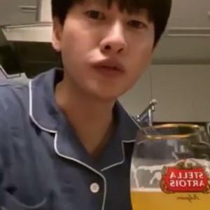 【訳⑤】11/6ヒョクIG LIVE お酒の前にはチョコ牛乳♡