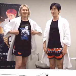 ヒョクとヒチョルのパジャマ放送@アイドルリーグ