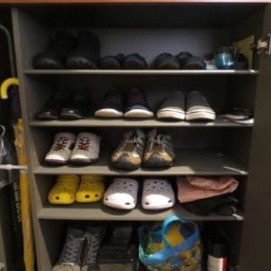 靴箱掃除の続き