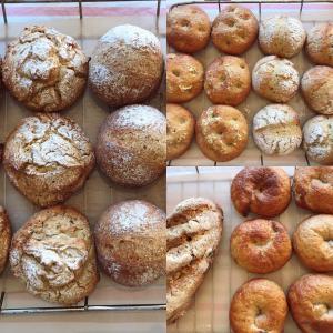 そば粉の実験教室〜成形パン〜