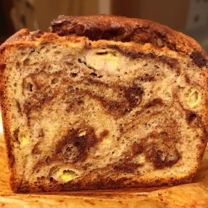 チョコバナナのマーブルパウンドケーキ