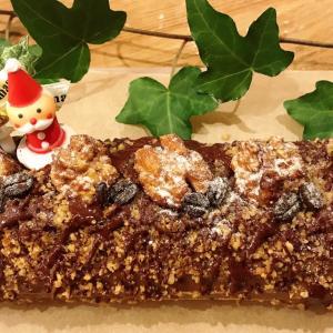 そば粉で作るクリスマスケーキ