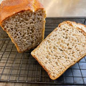 夏の新そばで〜100%発芽そばの実パン