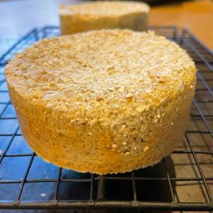 オイルフリー 100%そば粉の豆乳イングリッシュマフィン