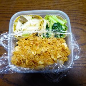 ある日のお弁当(チキンライス)
