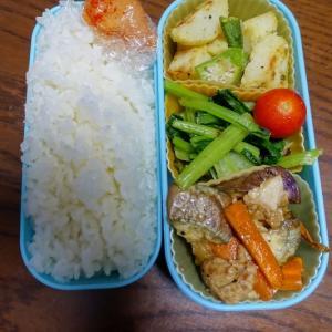 ある日のお弁当(豚肉と茄子の味噌炒め)