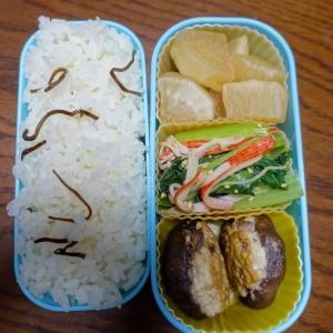 ある日のお弁当(シイタケの肉詰め)