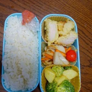 ある日のお弁当(鶏天)