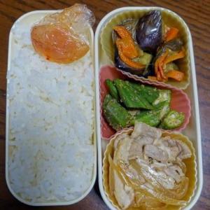 ある日のお弁当(生姜焼き)
