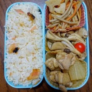 ある日のお弁当(鶏肉と大根の煮物)