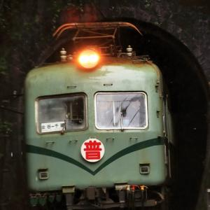 雨の神尾駅!旧南海電鉄21001系電車