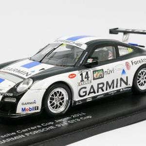 【スパーク】 1/43 GARMIN PORSCHE 911 GT3 Cup - Porsche Carrera Cup Japan 2011