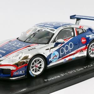 【スパーク】 1/43 ポルシェ 911 GT3 Cup - PCCA 2014 #5