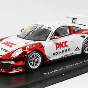 【スパーク】 1/43 ポルシェ 911 GT3 Cup - PCCA 2014 #99