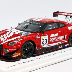 【スパーク】 1/43 日産 GT-R Nismo GT3 #23 - GT SPORT MOTUL Team RJN - 7th 24H SPA 2018