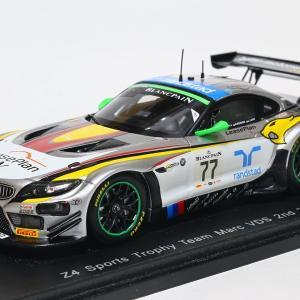 【スパーク】 1/43 BMW Z4 GT3 - Z4 Sports Trophy Team Marc VDS 2nd 24H ph SPA 2014