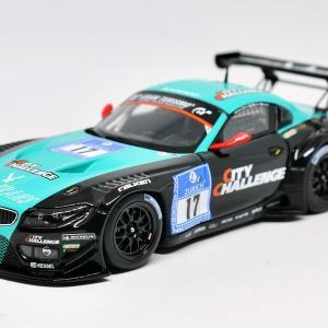 【ミニチャンプス】 1/43 BMW Z4 GT3 #17 - Team vita4one - ADAC 24h Nurburgring 2012
