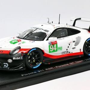 【スパーク】 1/43 ポルシェ 911 RSR #94 - Porsche GT Team - 24H Le Mans 2018