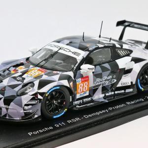 【スパーク】 1/43 ポルシェ 911 RSR #88 - Dempsey-Proton Racing - 24H Le Mans 2018