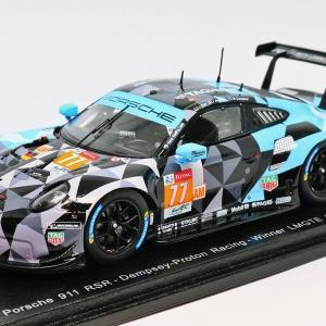 【スパーク】 1/43 ポルシェ 911 RSR #77 - Dempsey-Proton Racing - Winner LMGTE Am class 24H Le Mans 2018