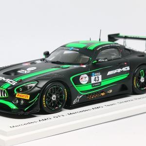 【スパーク】 1/43 メルセデス AMG GT3 - Mercedes-AMG Team Strakka Racing - 2nd SUZUKA 10H 2018