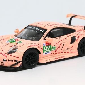 【スパーク】 1/64 ポルシェ 911 RSR #92 - Porsche GT Team Winner LMGTE Pro class 24H Le Mans 2018 【Y122】