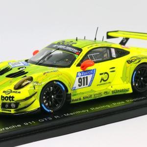 【スパーク】 1/43 ポルシェ 911 GT3 R #911 Manthey Racing ニュルブルクリンク 24H 2018
