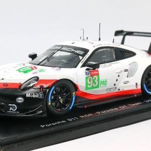 【スパーク】 1/43 ポルシェ 911 RSR - Porsche GT Team - 24H Le Mans 2018