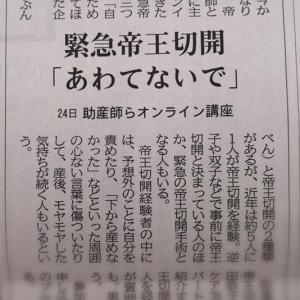 共同通信社さんの記事が全国各紙に掲載されました