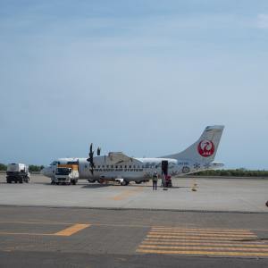 北海道エアシステムの新機材ATR42に乗って・・函館へ(1)