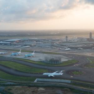6月某日、ジェットスターで成田空港と航空機を見学(1)