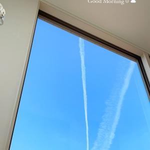 飛行機雲♡