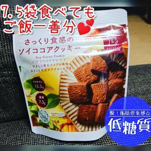 ローソンで発見!さっくり食感のソイココアクッキー♪独特の食感がクセになる?