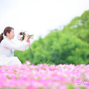 お花を愛る眼差しがたまらなく優しく美しい♡