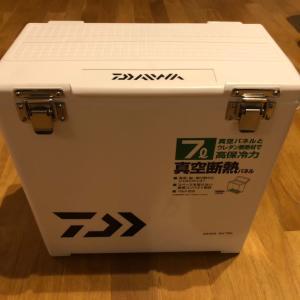 アジング用クーラー 新調 【DAIWA SU700】