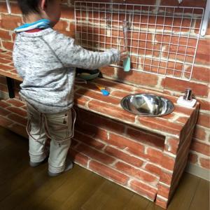 DIYおままごとキッチン