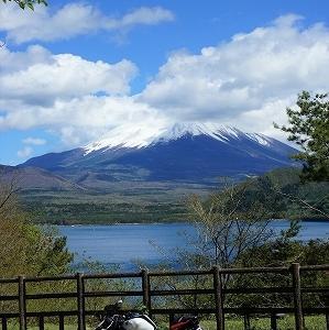 2021 富士山周遊ツーリング5(本栖湖)